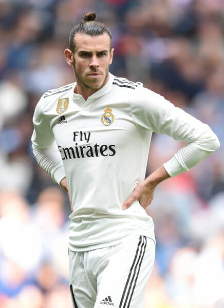 Gareth Bale of Real Madrid looks on during the La Liga m atch between Real Madrid CF and Levante UD at Estadio Santiago Bernabeu on October 20, 2018 in Madrid, Spain.  (Oct. 19, 2018 - Source: Denis Doyle/Getty Images Europe)