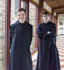 """From the Bell Tower"" hosts, Br. Joel and Br. Kolbe"