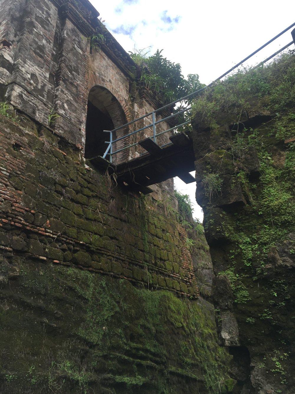 San Lorenzo Castle Entrance