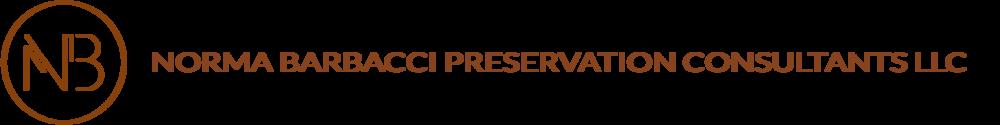 Curriculum Vitae Norma Barbacci Preservation Consultants Llc