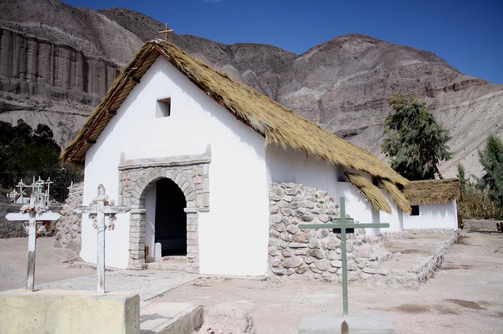 CHILE - Churches of Arica-Parinacota