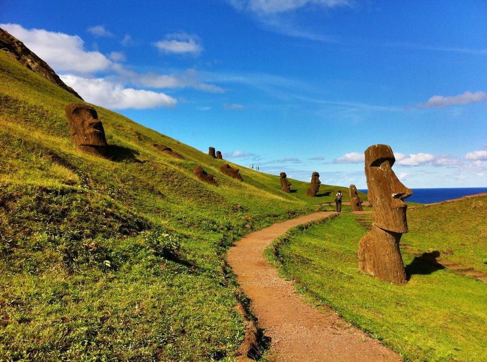 CHILE - Easter Island, Rano Raraku