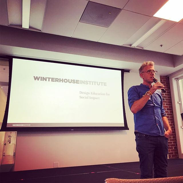 Inspiring evening of social design / design for social impact with Winterhouse Institute. Thanks for putting on such a great event, and thanks to all the fascinating social innovators and designers who attended! • #socialimpact #design #innovation #winterhouseinstitute