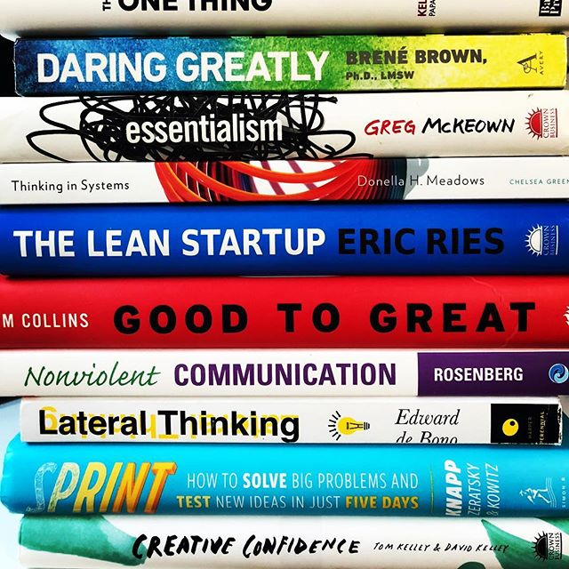Yesterday was #nationalbookloversday, and today I'm sharing my list of 16 books that every startup should have in their library. From business strategy to creative collaboration to team dynamics, these titles will help your team solve problems more effectively and grow a strong and supportive culture along the way. • The list includes authors like @jakeknapp and @brenebrown...Link in bio for all 16! • #books #startup #entrepreneur #innovation #leadership #design