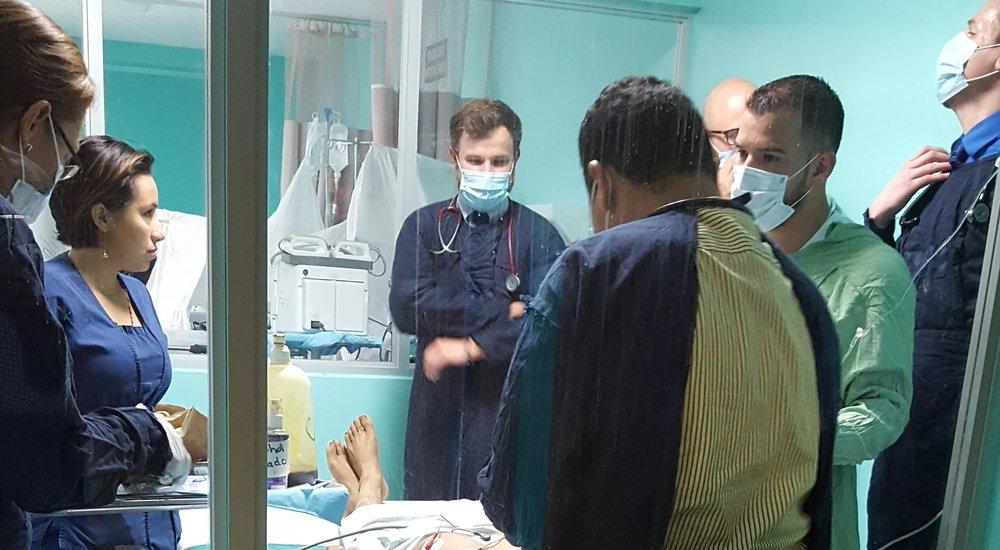 In the ICU