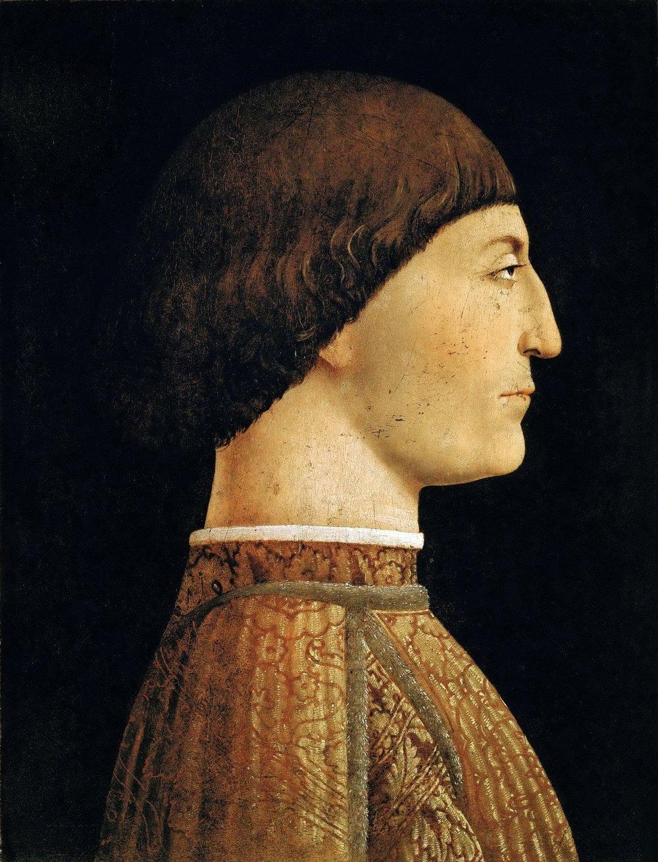 15th Century Portrait Showing Ideal Neck