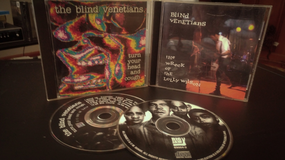 The Blind Venetians Promo CD's