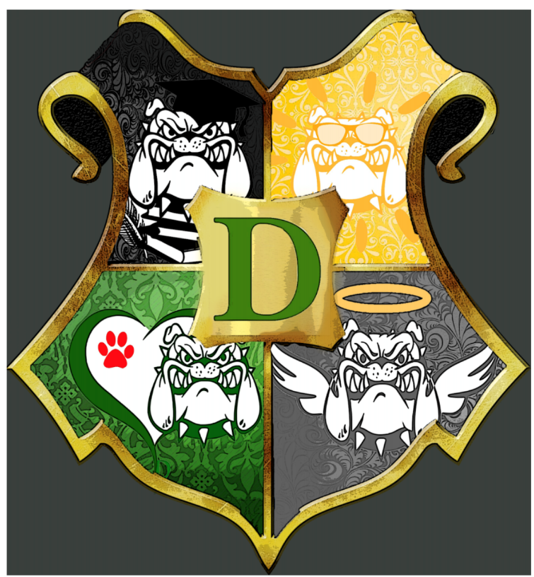Tip: Include your students in the process. 9th grade student Lauren Hatch designed the Dogwarts Crest.