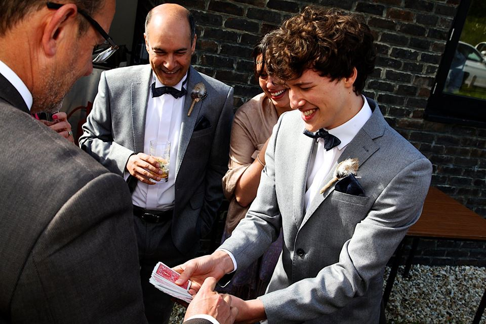 Package #1 - Roaming Magic - This session involves sleight of hand magic and is ideal at events where guests are standing i.e. between activities at a wedding or corporate function.1 hour - £150 for first hour (£75 for every hour after)+ £45 if your event is outside of Sussex