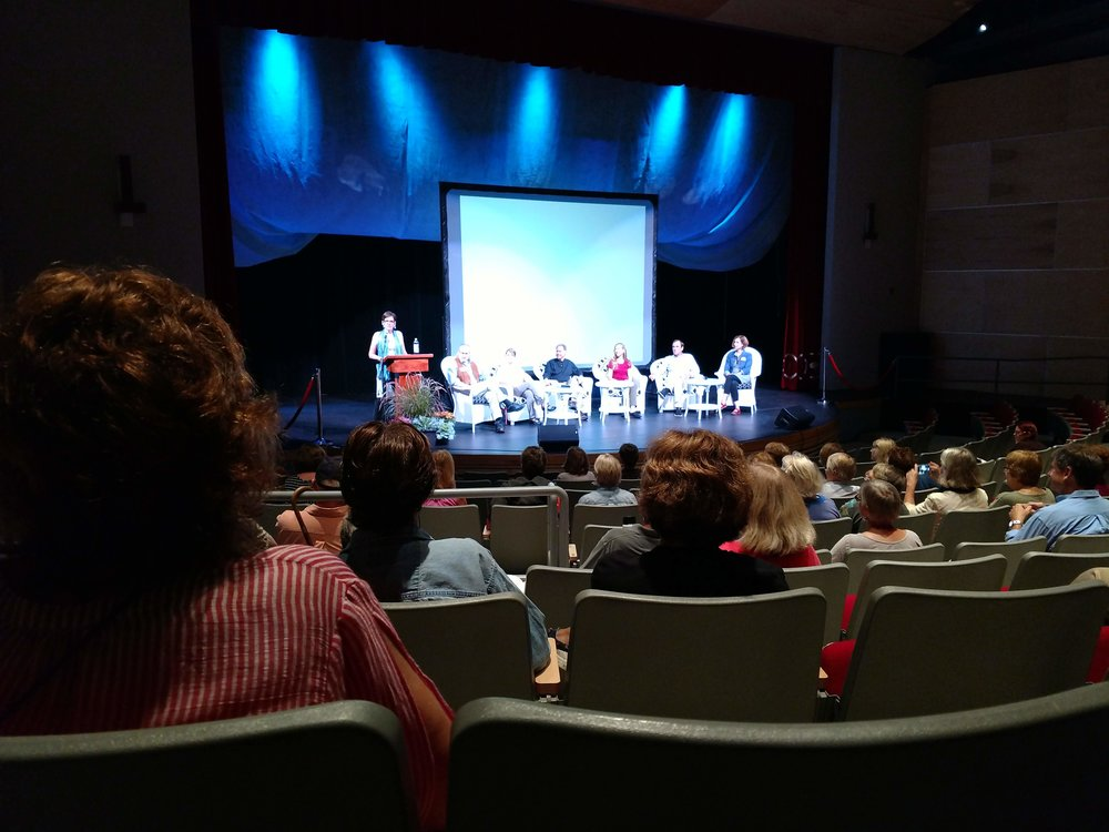 Saturday Author Panel at TPAC