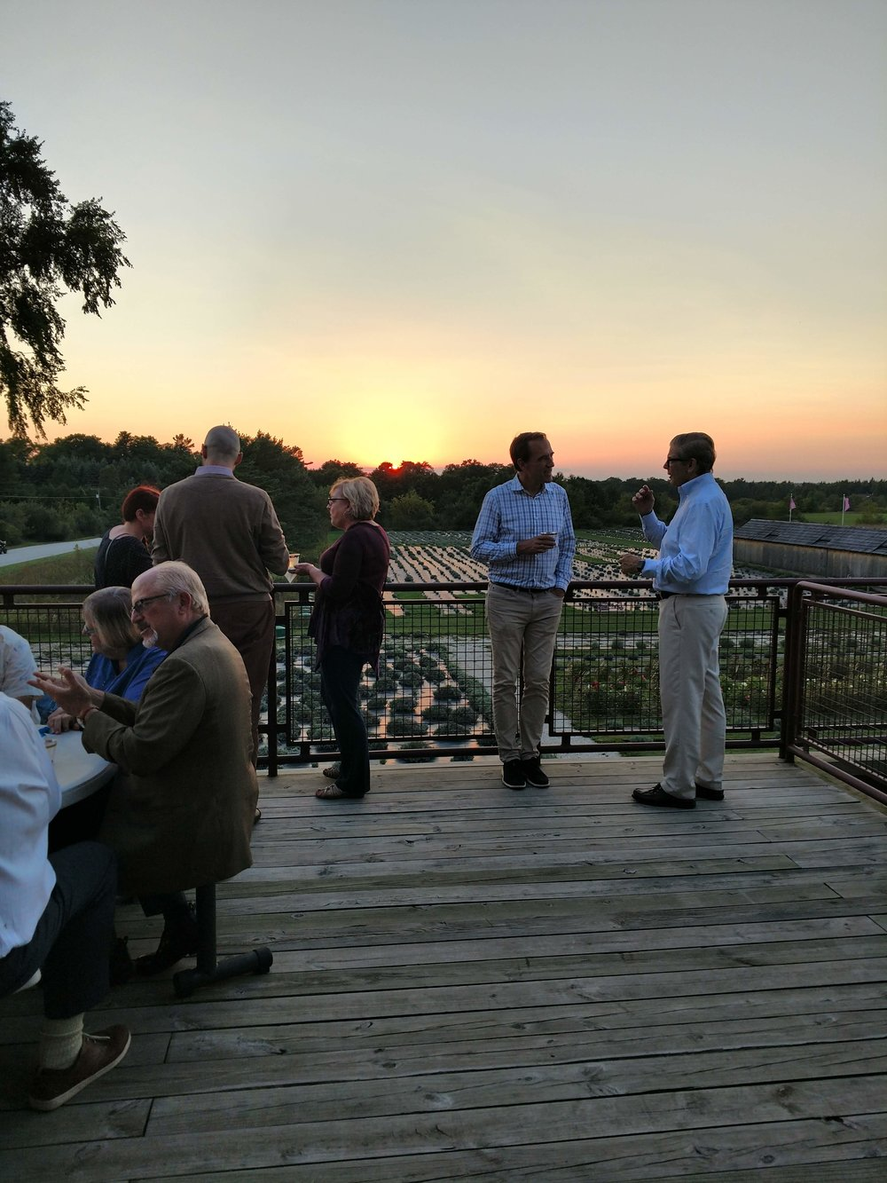 Saturday Banquet at Historic Island Dairy