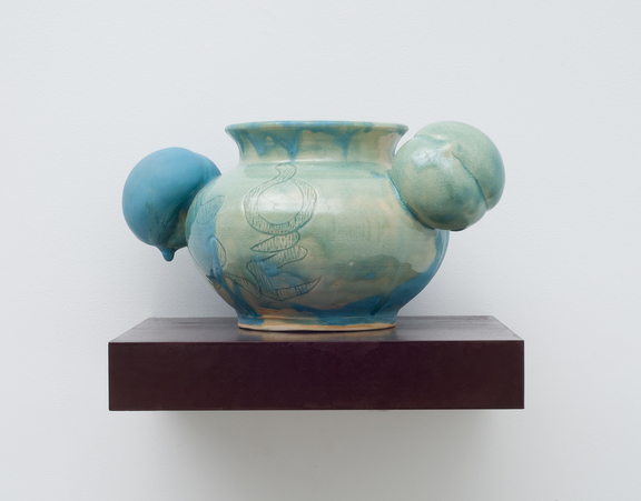 Jiha Moon,  Leia , 2013; Ceramic and glaze, 13 x 8 x 8 in.; National Museum of Women in the Arts, Gift of the Georgia Committee of the National Museum of Women in the Arts; © Jiha Moon; Photo courtesy of the artist.