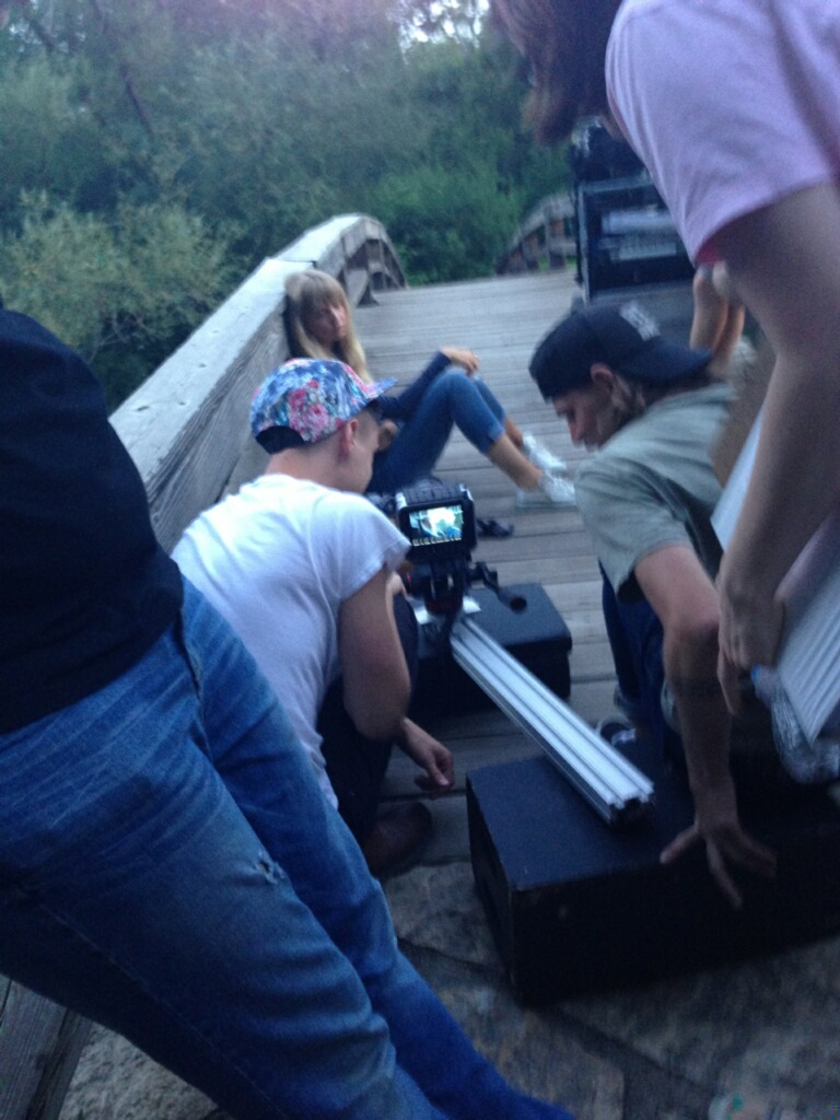 On Set_Pioneer Park_Bridge_Olivia_Crew.jpg
