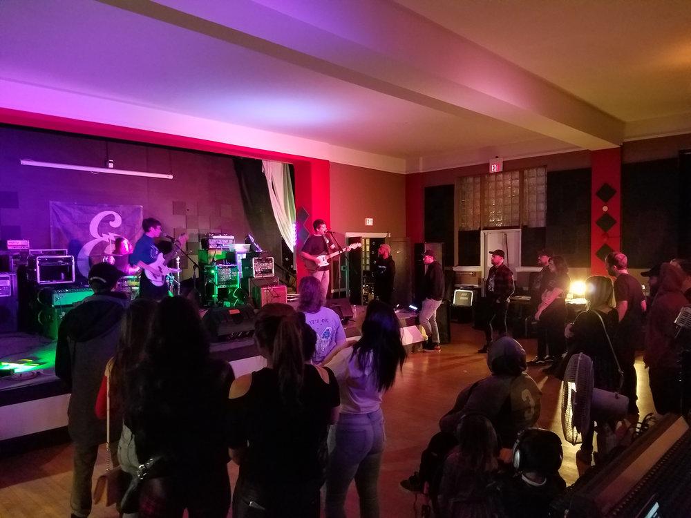 Holy Pinto performing.  Photo: Cherolyn Goodman.