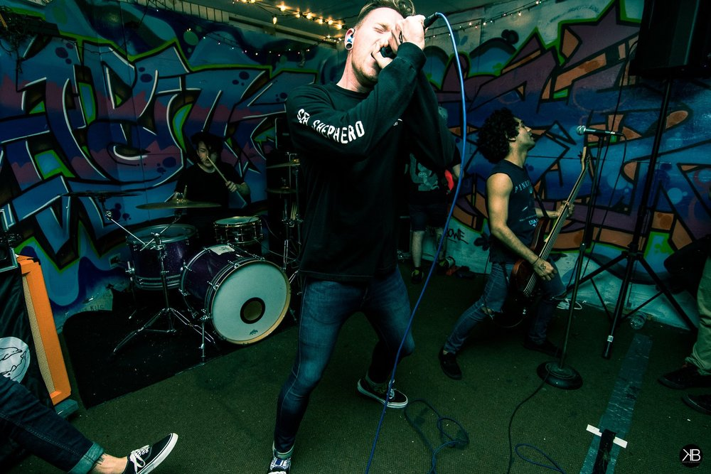 Three Years performing at Royal Skate and Apparel in Lansing, IL.  Photo:  Kyle Bergfors.