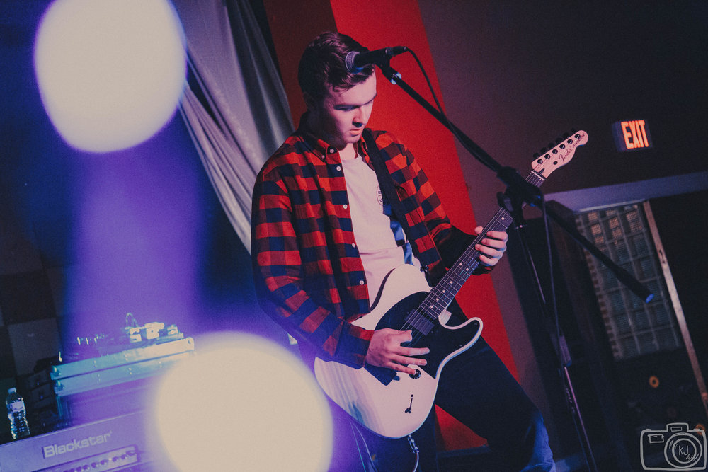 Howell performing on February 11th at Evolution Music. Photo:  Kaitlyn Johnston .