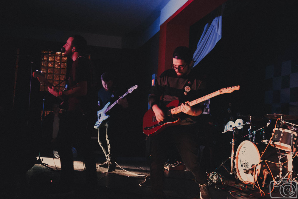 As We Once Were performing on February 11th at Evolution Music. Photo:  Kaitlyn Johnston .