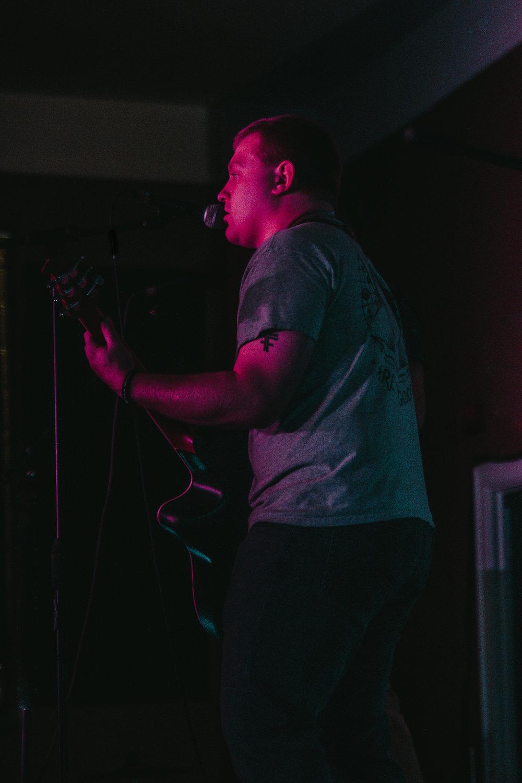 Bad Planning performing on February 11th at Evolution Music. Photo: Sam Netisingha.