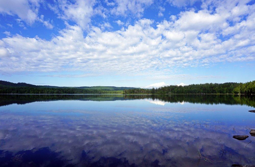 Lake Vesleflåtan (Photo: VisitOslo/Tord Baklund)