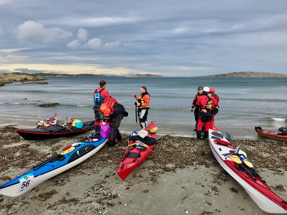Training course in the Oslofjord (Photo: Oslo Outdoor)
