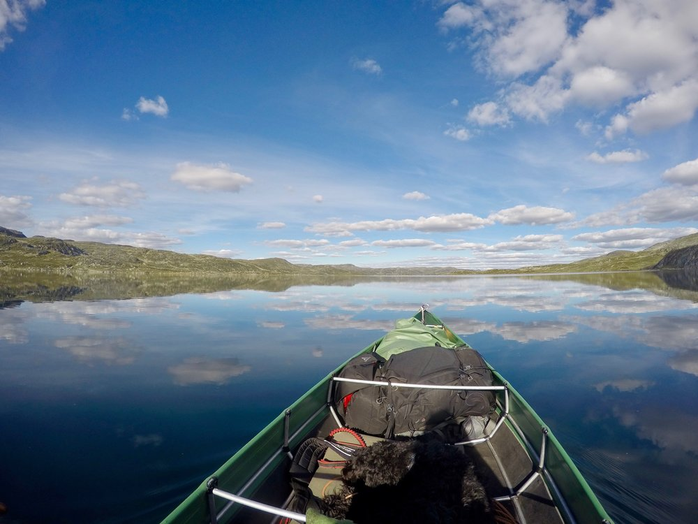 The 2018 expedition followed the river  Kvenna  across the Hardangervidda mountain plateau, the largest in Northern Europe. A true adventure. We expect the same for the 2019 expedition (Photo: Oslo Outdoor)