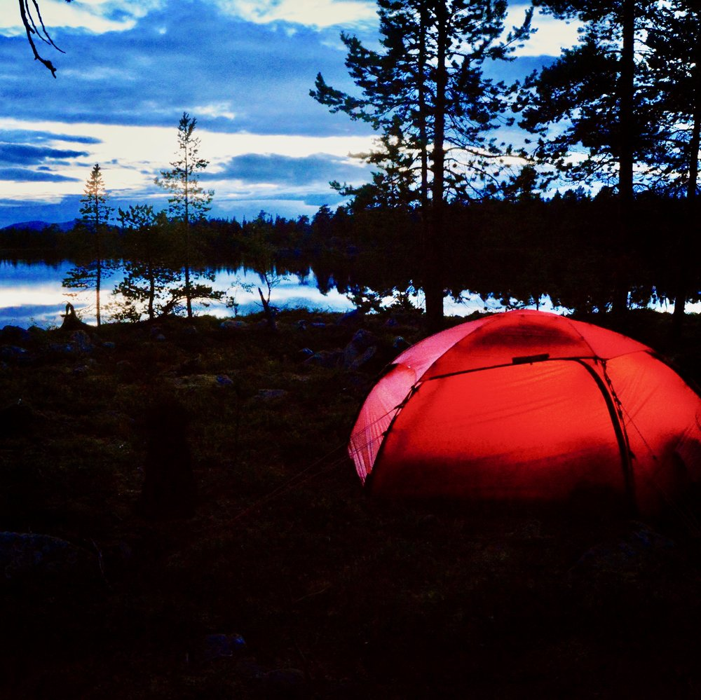 August summer night in Femundsmarka National Park (Photo: Oslo Outdoor)