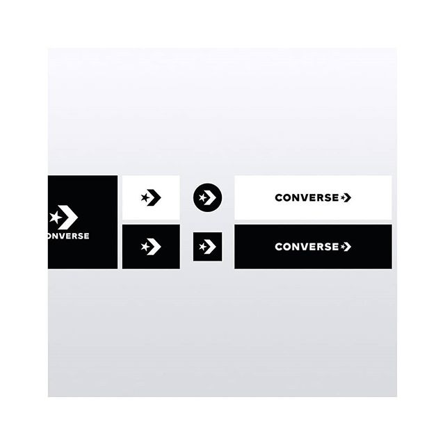 Converse rebrand by Saw Dust Studio