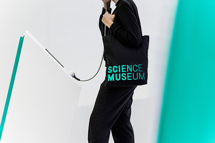 Science museum by Ollins - A controversial rebrand by North Design. Not an easy one to tackle, to walk in the shoes of Pentagram's legendary design for the museum.