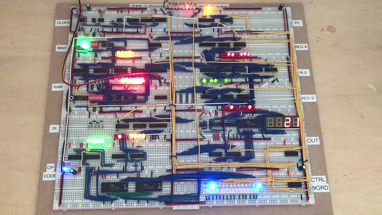 8 Bit Computer Build Juragansynopsis Electronics 7segment Led Clock Page 4 Bittechnet Forums Bread Board