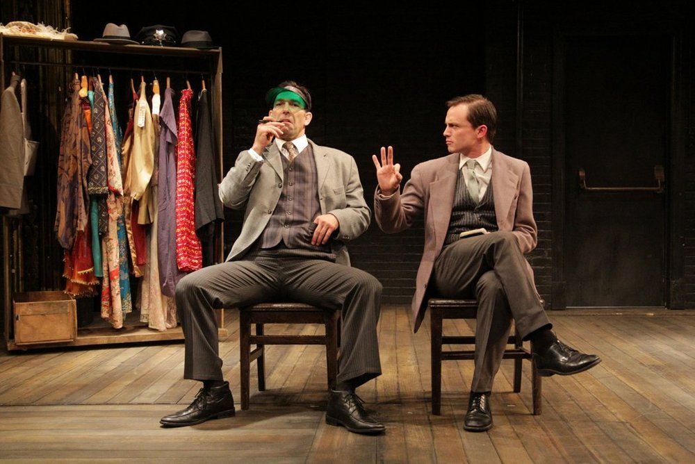 "Robert Mammana, left, and Will Bradley in ""The Twentieth Century Way."" Credit: Britannie Bond, New York Times"