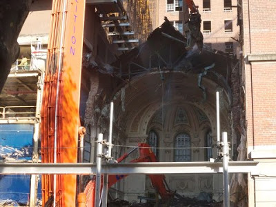 destruction of St Vincent's Chapel in order to build blood condos for the super rich ..jpg
