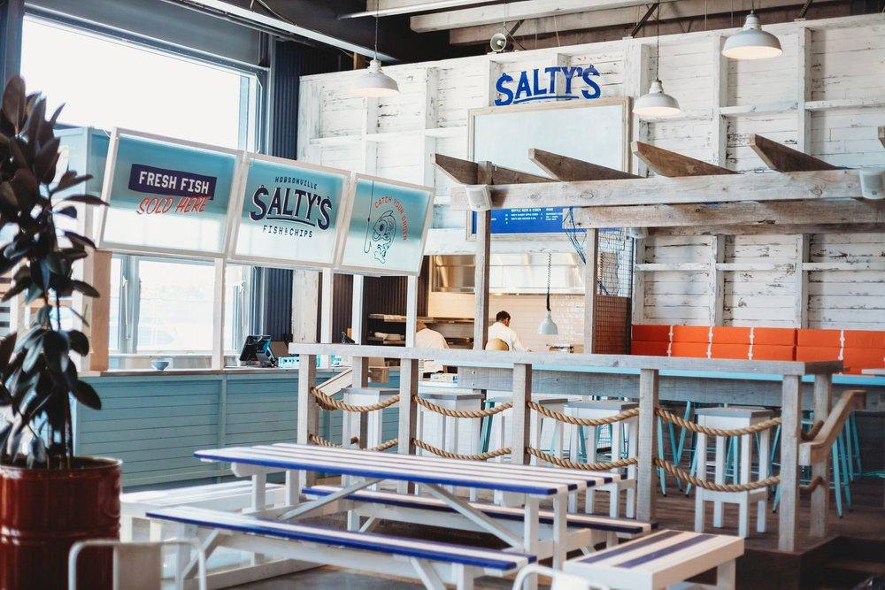 SALTY'S, HOBSONVILLE - CASE STUDY
