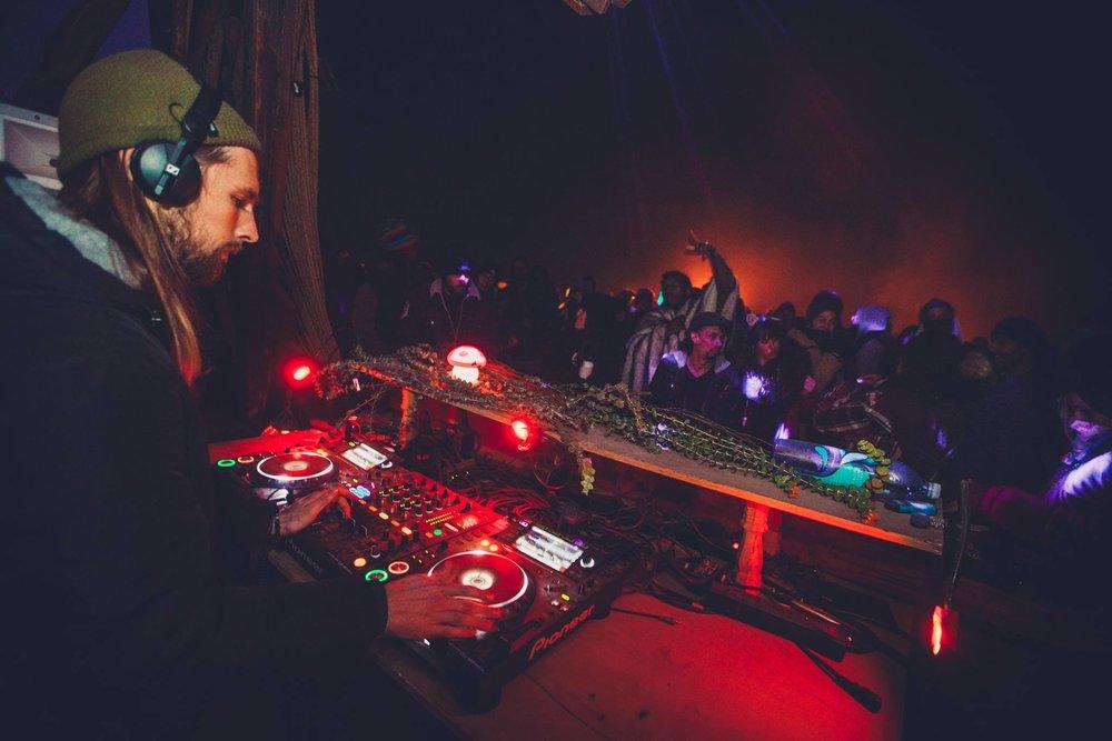 Moontribe, Terrakroma, Noise Revolt NYE 2018 - Mojave Desert  © Photo by Soodyod Photography