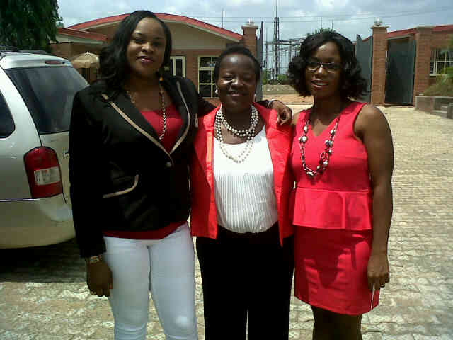 From right,Gbonju,titi nd me.just arriving @ d venue.jpg
