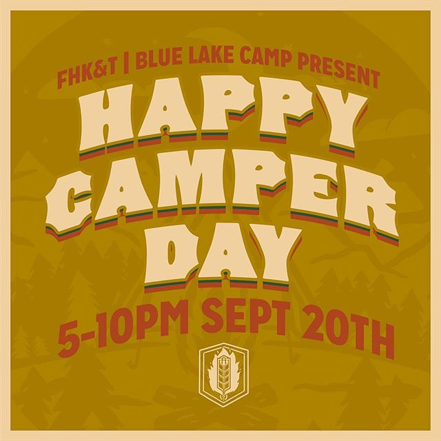 What a summer! We couldn't have hoped for more support from our town. We really appreciate the patience and understanding Cranbrook has shown us during our crazy start-up. You've done a great job making us feel special and we'd like to return the favour to some local kids. ⠀ .⠀ We've teamed up with Blue Lake Camp to bring you Happy Camper Day on Sept 20th!, $1 from every pint sold helps a local kid get to Blue Lake Camp for a special two-night Fall kids camp. With your support, these kids will get the full camp experience along with a Fire Hall swag bag including a Bunker Gear hat, t-shirt, and other goodies from great local businesses. ⠀ .⠀ Come have a pint this Happy Camper Day – its for the kids! .⠀ .⠀ .⠀ .⠀ .⠀ .⠀ .⠀ .⠀ .⠀ #fhkt2018 #heritage #restoration #gastropub #cranbrook #cranbrookbc #downtowncranbrook #explorecranbrook #kootenays #kootenaylife #britishcolumbia #tapintothekootenays #eatlocal #history #microbrew #taphouse #bar #craftbeer #brick #firehall #patio #patioseason #charity #camping #kids #benefit #fundraiser #fundrasing ⠀ ⠀