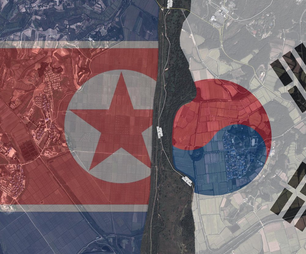 The Korean Demilitarized Zone  was established in 1953 after the Division of Korea.