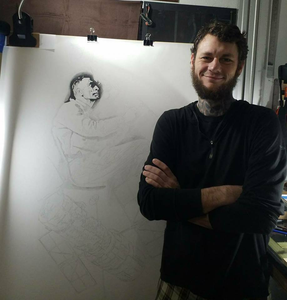 Denmon Studios   Name: Christopher Denmon  Drawing and creating art is one of my earliest memories, and I have been doing creative type works my entire life. I began becoming very serious about being profession after my ETS in 2010.