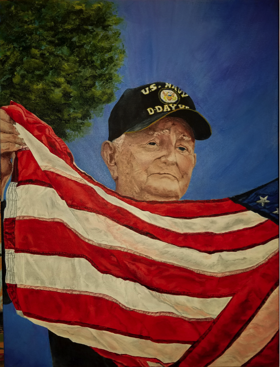 "Bernie Donato Art   Name: Bernardine ""Bernie"" Donato  I was a flight nurse in my military career, an ER trauma nurse in my civilian career, and a reserve police officer for the Los Angeles Police Department."