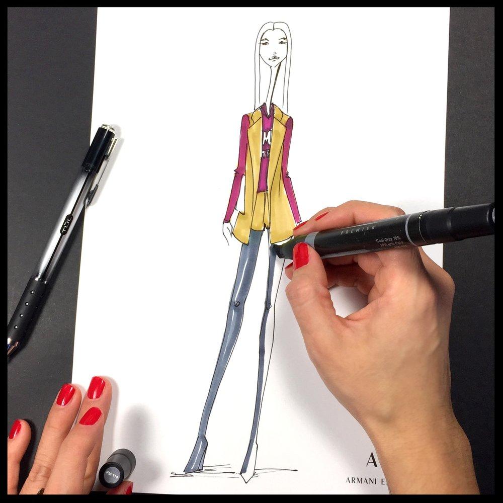 Step 2: A Sketch