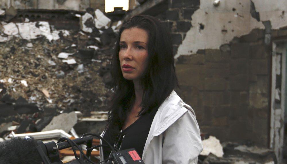 Ольга Шектер о «Войне снайпера»: «Мой фильм не о политике, а о человеке!»
