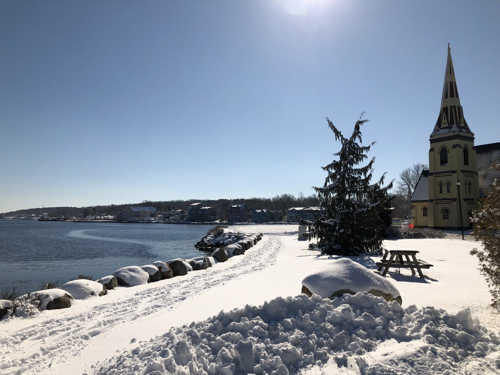 Snow at Mahone Bay