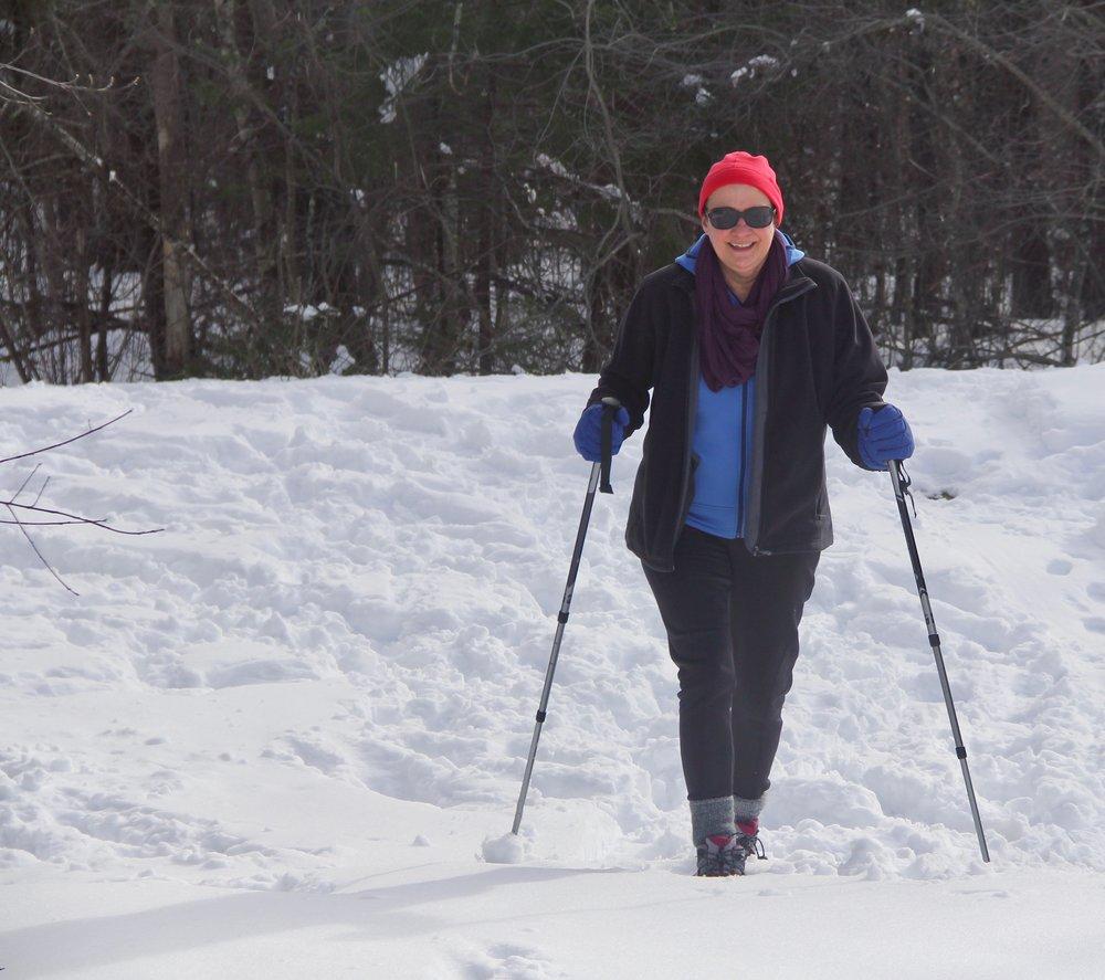 Snowshoeing at Reservoir Park