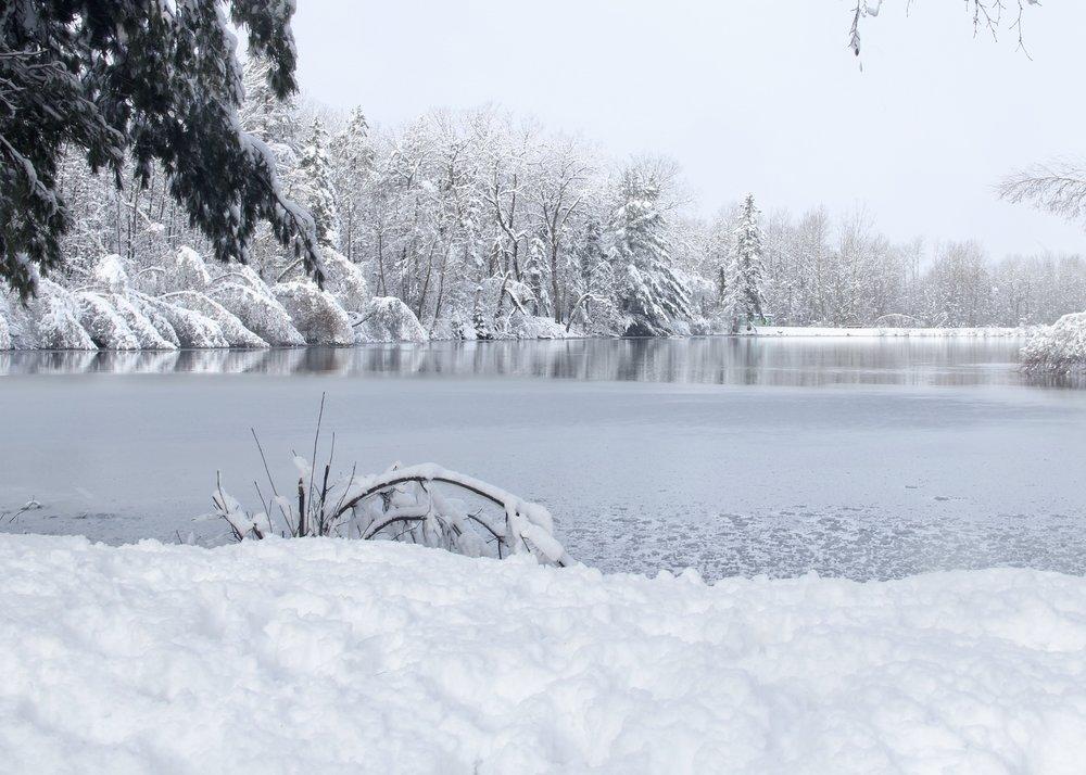 Reservoir lake