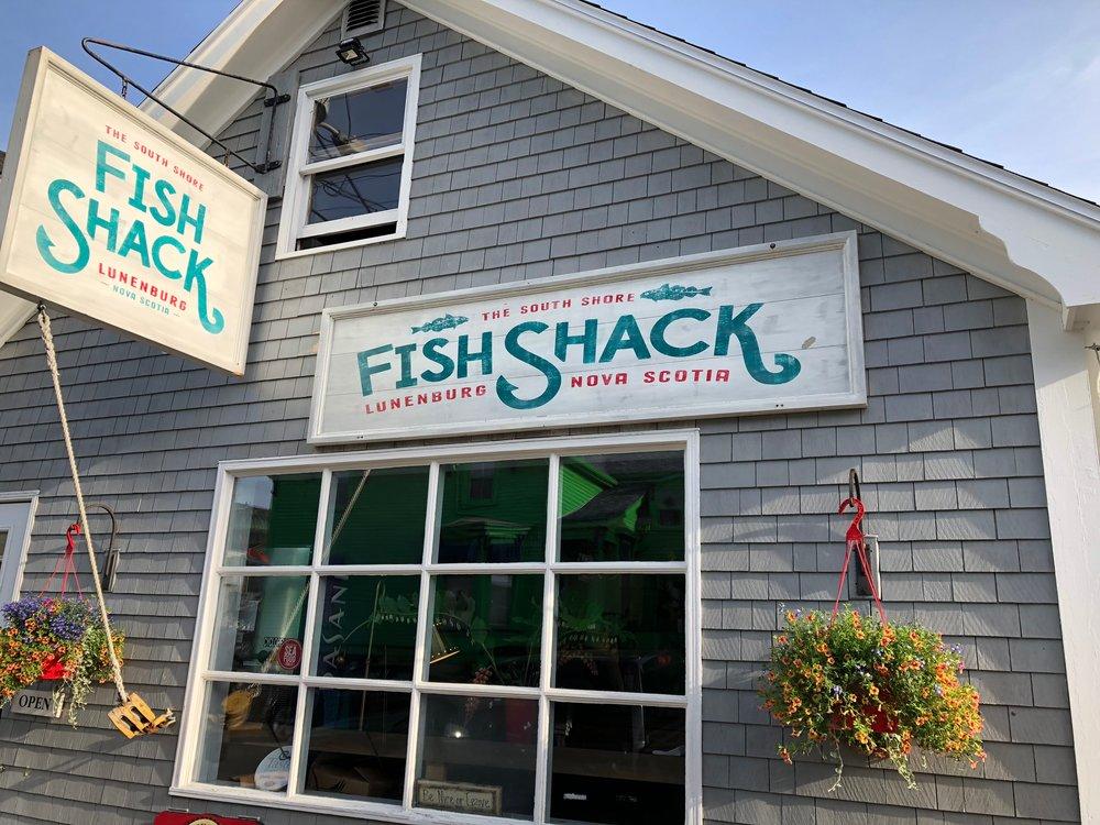 The Fish Shack in Lunenburg