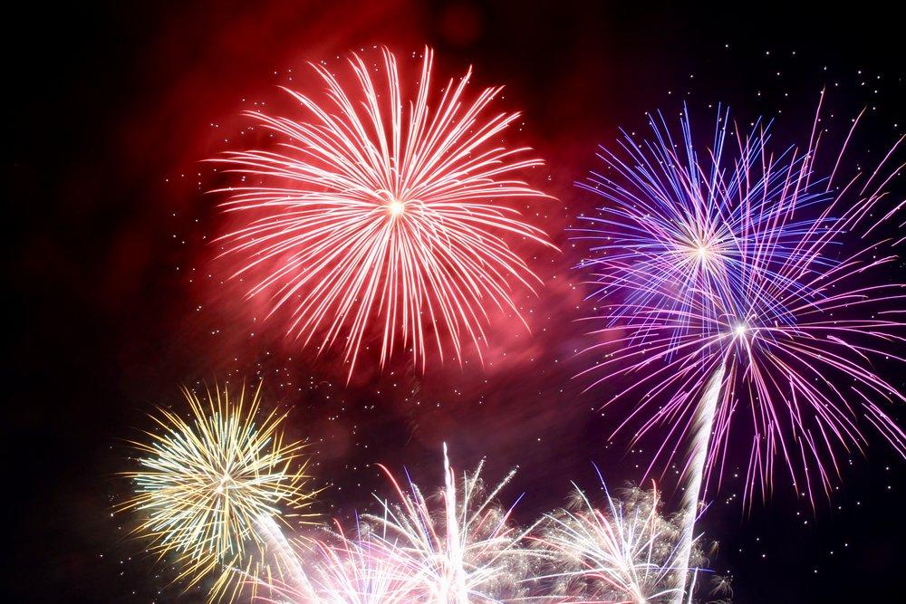 Fireworks at Port Williams Days