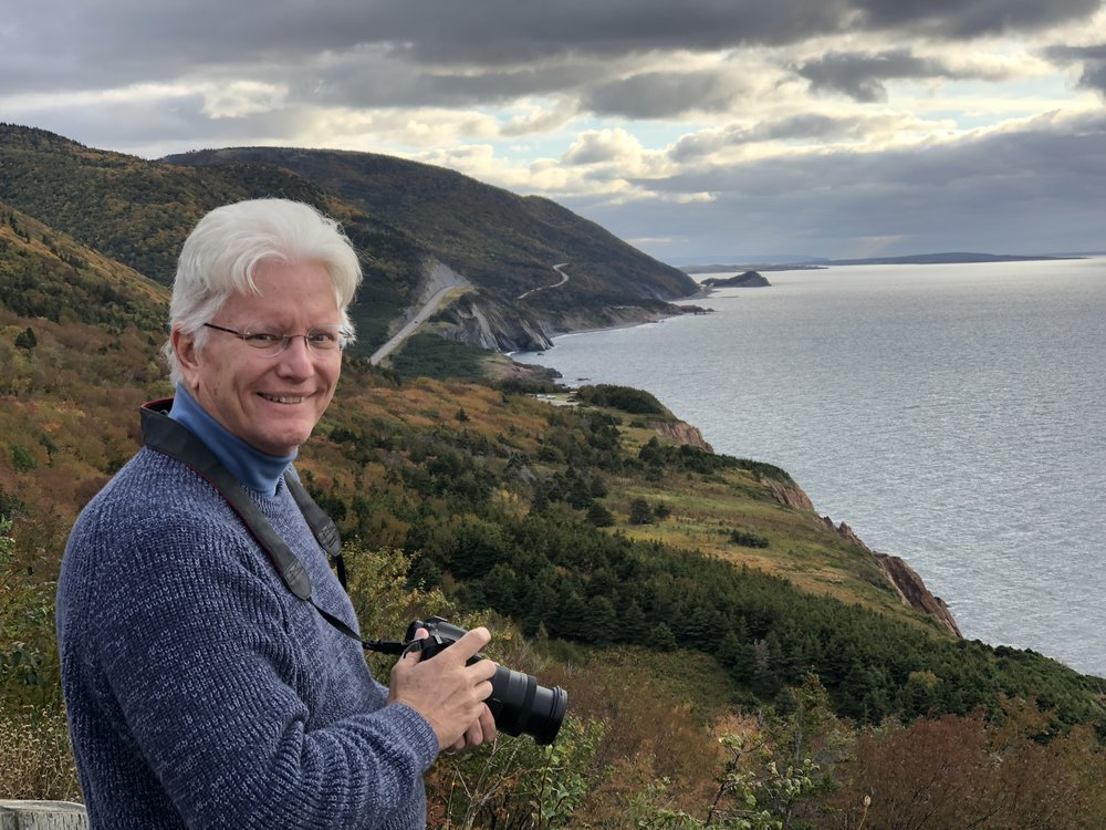 On the Cabot Trail in Cape Breton Highlands National Park