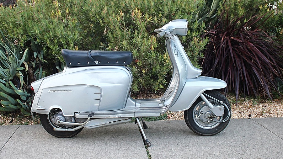 1964 LAMBRETTA LI150 SPECIAL (L-61)  - Innocenti had several models in the Lambretta Li range. The sportiest of those was the 150 Special, with a similar design to the TV 175, but had a modified Li 150 motor.