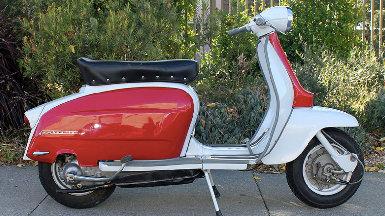 1967 LAMBRETTA Li150 (L-68) - The 150's command lower prices than the 200cc Lambrettas, but have tons of style and are so much fun to ride. Once you get one, you'll be hooked on Lambrettas!