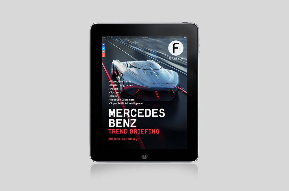 Mercedes Benz UK - Digital Trend Briefing Platform.