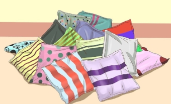 The ubiquitous pillow fort; essential equipment in pregnancy.